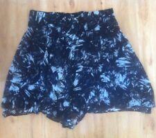 Ladies Black & White KATIES Skirt Plus Size 20 Mid Length Floaty Formal
