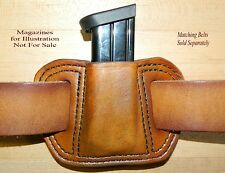Leather MAG POUCH for 9mm /.40 Double Stack magazine fits Beretta PX4 Storm Mags