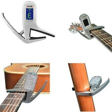 Aroma AC-05 Clip-on Guitar Tuner & Capo 2-in-1 for Guitar
