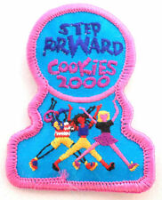 Girl Scout Gs Uniform Patch Step Forward Cookies 2000 #Gsbpk