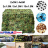 5 Size Military Hunting Camouflage Woodland Camo Netting Tent Cover Garden Decor