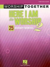 """HERE I AM TO WORSHIP-2"" PIANO/VOCAL/GUITAR MUSIC BOOK-BRAND NEW ON SALE-RARE!!"