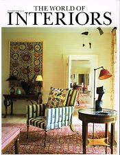 October Monthly World of Interiors Magazines | eBay