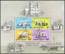 Used Postage Samoan Stamps