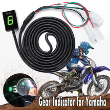 LED Digital Gear Indicator for Yamaha YZF R6 R1 FZ1 FZ6 FZ6R FZ8 FZ400 FZ16