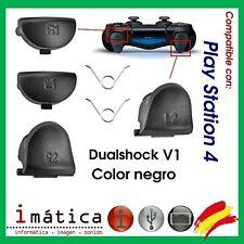 Triggers R1 R2 L1 L2 Command PS4 PLAYSTATION 4 Dualshock V1 Buttons Colour Black