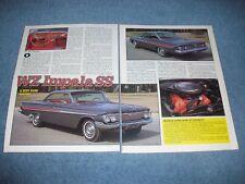 "1961 Impala SS Dual Quad 409 Vintage Article ""WZ Impala SS"""