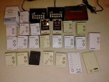 X-10 home automation lot, the original Smart Home system. 26 modules & controls
