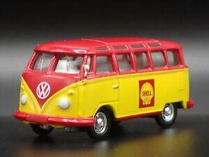 1950-1967 VW Volkswagen 23 Fenêtre Bus Coque Huile 1:64 Scale Voiture Miniature