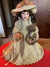 "Emily -Boyds Bears - Yesterdays Child -Wedding Doll 1998 15"" Porcelain"