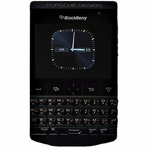 New BlackBerry Porsche Design P9981 QWERTY+Arabic Black Factory Unlocked 3G GSM