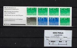 Lotto # 2334 Olanda Selezione francobolli MNH in serie complete