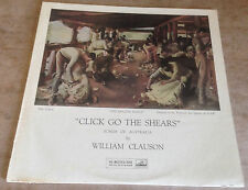 WILLIAM CLAUSON click go the shears 1958 UK HMV MONO LP