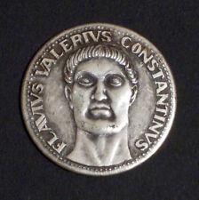 MEDAGLIA - FLAVIUS VALERIUS CONSTANTINUS - LE GRANDI FIGURE DI ROMA - 1980