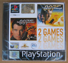 Videogame 007 World is not Enough + Tomorrow Never Dies PSX PSONE - 2 giochi