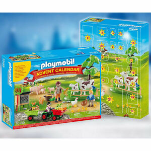 Playmobil 70189 Country Farm Advent Calendar with Small Tractor