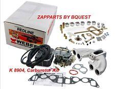 VOLVO 122,142,144,1800 WEBER CARBURETOR  REDLINE K 8904, Carburetor Kit