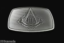 Belt Buckle from Limited Collectors Edition of  Assassins Creed III 3 - NEW RARE