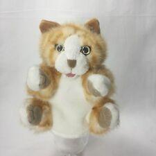 Euc Cat Kitty Hand Puppet Folkmanis Puppets Stripes Orange Tabby Kitten