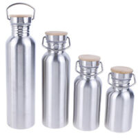 350/500/750 /1000ml Stainless Steel Water Bottle Vacuum Flask Thermos Bot JR FT