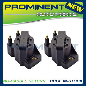 2  Ignition Coil Packs Replacement for 1991-2002 Saturn SL SW SC 1.9L L4 DR46