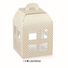 Lanterna Tortora pois senza trasparente 100x100x135 mm n 10 pz art 16723