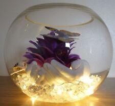 Lampada da tavolo Belle Ragazze Fiore Farfalla Camera Da Letto Lampada da comodino