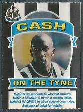 NEWCASTLE UNITED-CASH ON THE TYNE-1997-DES HAMILTON