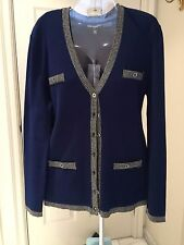 Cardigan/Jacket By Karl Lagerfeld Size XL  Brand New. Ship To US& World Wide.