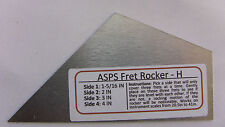 Luthier Tool Fret Level Rocker Type I (Diamond Honed) for Guitar Necks