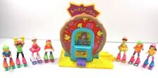 1996 Skate City N The Roller Girls Pizza Parlor Playset Tyco 7 Girls