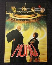 1986 Momo 11x15 Movie Promo Fold-Out VG Radost Bokel, Mario Adorf