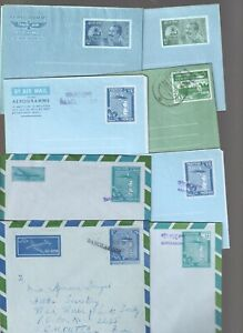 BANGLADESH CLASSIC POSTAL STATIONERY BIRDS 30 AIR LETTER AND COVERS BIRD (1046)