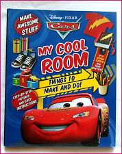 DISNEY CARS - Things To Make & Do - MY COOL ROOM BOOK - Step-by-Step Hardcover