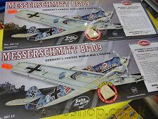 Messerschmitt BF-109 400 escala WW Luchadores II Series Corte Láser construir balsa NEW