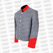 Civil War Confederate Artillery Red Trim Shell Jacket - All Sizes