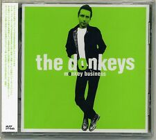 Donkeys - Monkey Business CD Powerpop Fast Cars Fans Private Dicks Small World