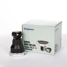Voigtlander Super Wide Heliar 15mm f/4.5 SL Aspherical (F mount) PLUS Shoe Base