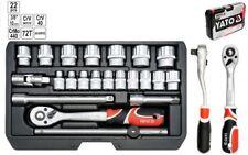 """Steckschlüsselsatz Knarrenkasten Koffer Typ2 3/8"""" XS 22 Tlg."""