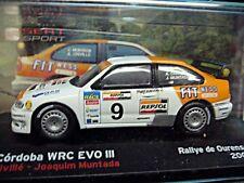 SEAT Cordoba WRC EVO 3 Spain Rallye 2005 #9 Criville Repsol IXO Altaya 1:43