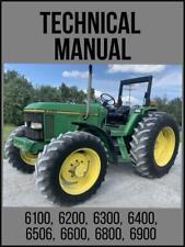 John Deere 6100 6200 6300 6400 6506 6600 6800 6900 Operation Test Manual Tm4487