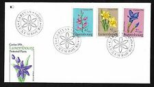 Luxembourg #B308-B310  Protected Plants - Fleetwood FDC