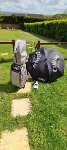 Callaway 25th Anniversary Limited Edition Staff Tour Bag RARE AND SIGNED HX TOUR