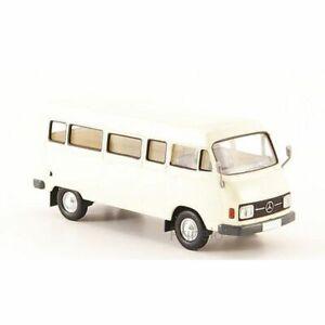 Brekina 13251 1/87 Ho Mercedes L 206D Van White 1970 Car Miniature
