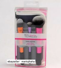 Real Techniques Travel Essentials makeup brushes set collection NEW LOOK