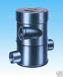 Wisy Erdfilter-Zisterne WFF 100 Wirbelfeinfilter, Wisy,regenwasserfilter