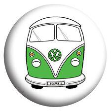 VW Campervan, Volkswagen, hippy, Camping, 58mm Fridge Magnet/Bottle Opener