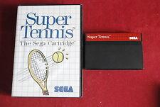 Super tennis pour Master System