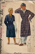 Vintage Boys Robe Sewing Pattern S2338
