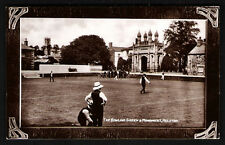 Helston. The Bowling Green & monument.